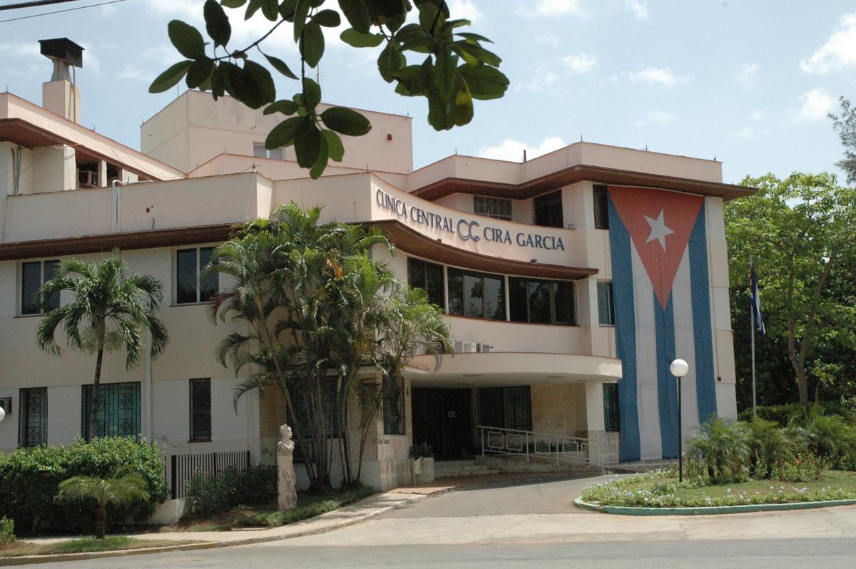 Clinica Central Cira Garcia Havana Cuba
